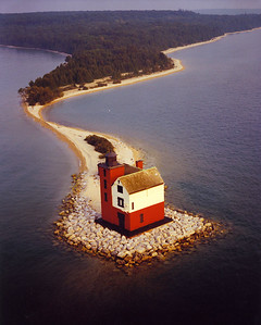 RoundIslandLighthouse-StraitsofMackinac