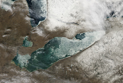 Changing Face of Lake Erie: Image of the Day