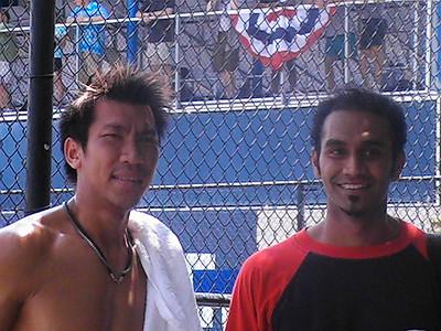 Paradon and my friend Nick