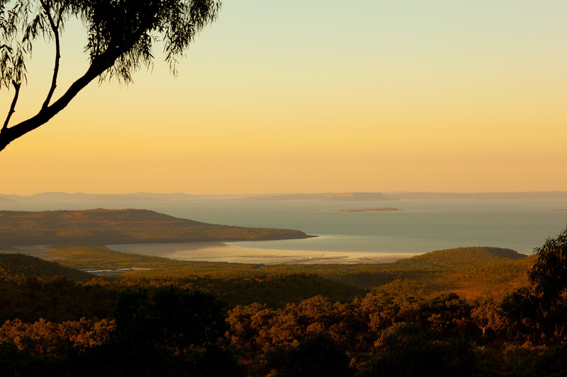 Sunset over Port Warrender, Mitchell Plateau