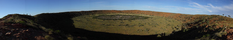 Wolf creek crator, I think you need to enlarge this one to see the whole image.
