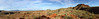 Panorama of Hamersley Gorge area, Karinjini