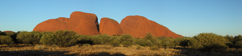 Late afternoon at the Olgas
