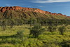 The Red Center....ah, don't see any red! Macdonnell Ranges West, near sunset, NT