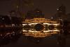 Chengdu footbridge at night