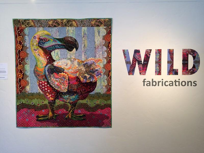 Wild Fabrications:  Exhibit of stitched wildlife