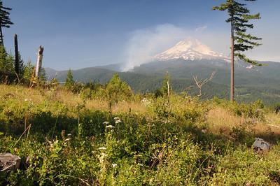 Mt Hood + Fire_0037