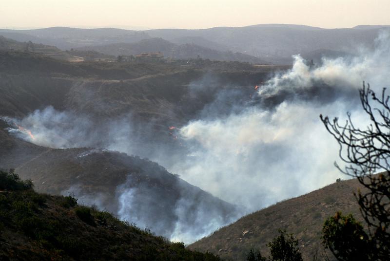 Witch Creek Fire-Poway, CA