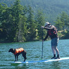 Jilly and Nigel on Cascade Lake