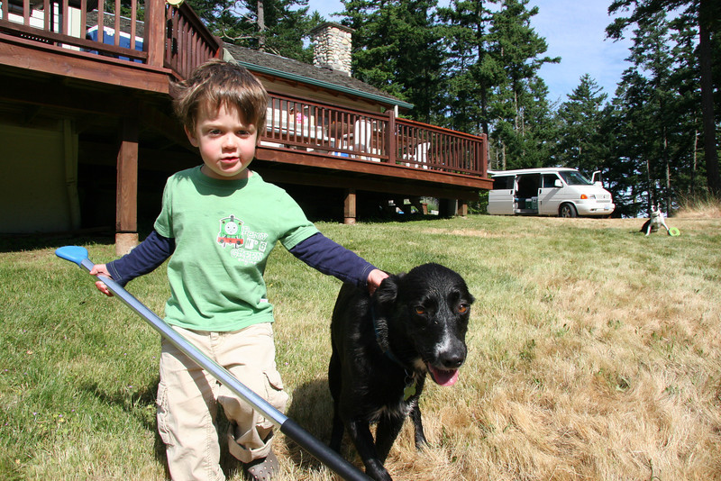 One of my favorite shots. The dogs were AMAZING this weekend with all the kids.