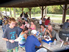 At the end of the Root River cleanup we were treated to a fantastic cookout.