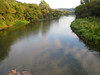 The Root River from the bridge at  Whalen.