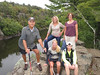 Some meetup hikers. We hiked 9 miles at Interstate State Park WI.