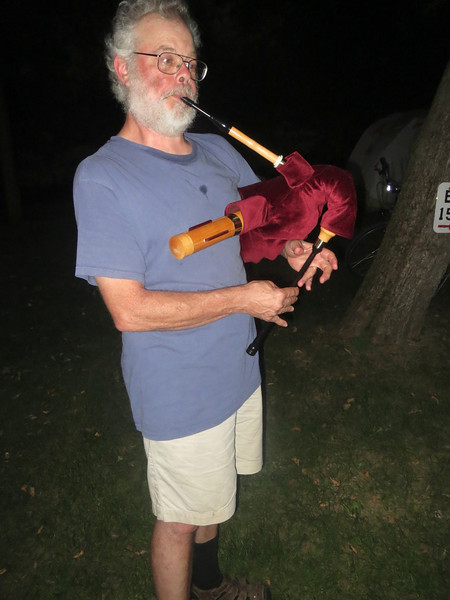Bob and his bagpipe?