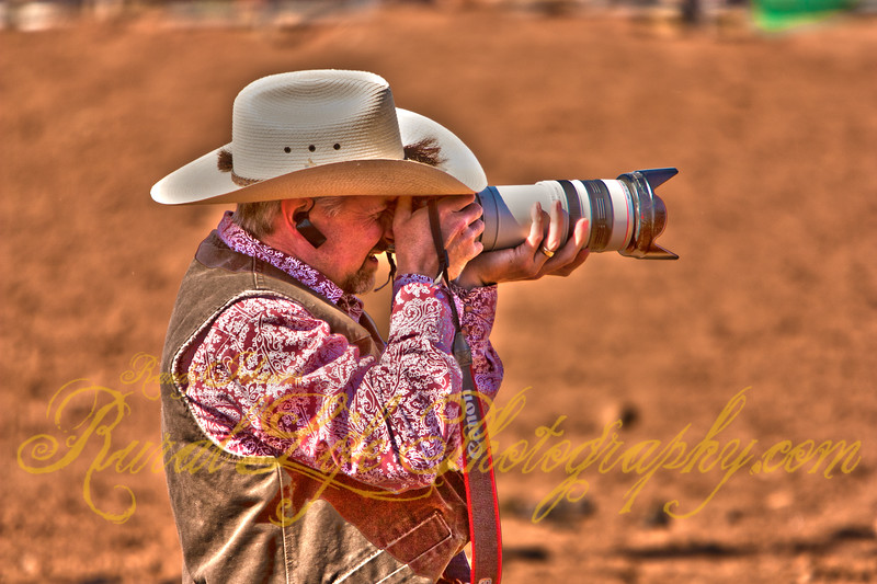 Who is Shooting the Photographer ?Jeff King