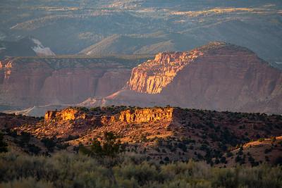 Sunset Near Torrey, Escalante