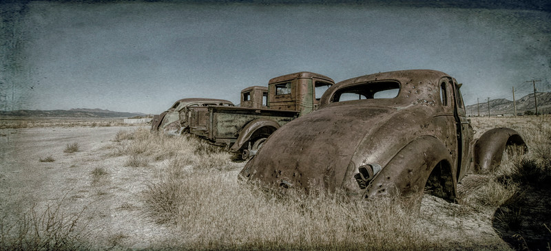 Old Cars, Ely, Nevada