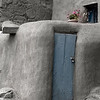 Tinted Image of a Pueblo Door