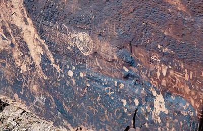 Newspaper Wall Petroglyphs
