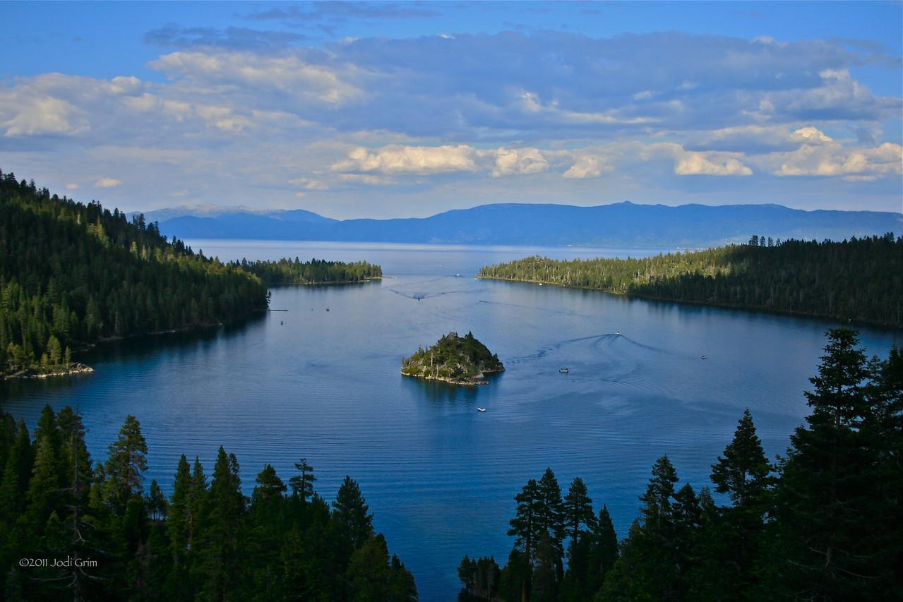 Emerald Bay, The Tea House Island, South Lake Tahoe, California