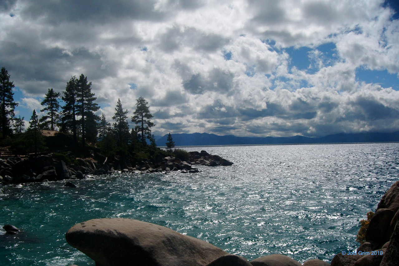 Tahoe Blue, Lake Tahoe Near Sand Harbor, Nevada Side