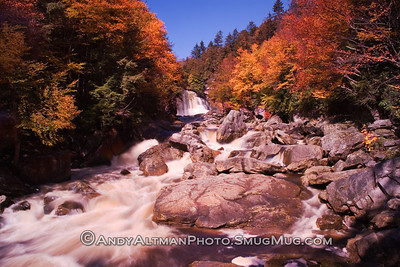 Blackwater Falls, Fall from River