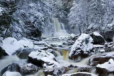 Blackwater Falls - Winter, from River