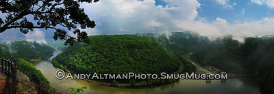 New River Pano from Hawk's Nest