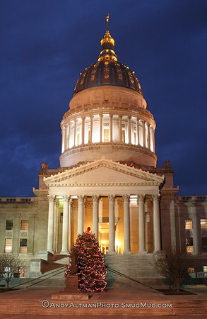 WV Capitol- Holidays (2)