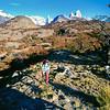 Cerro Grande, Cerro Torre and Fitz Roy. Los Glaciares National Park, Argentina, South America.