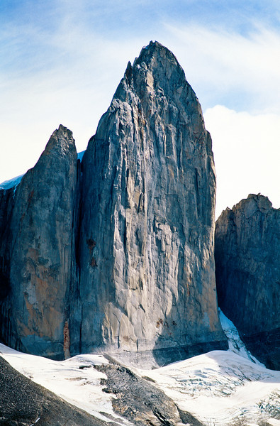 Cerro Cathedral in the French Valley. Torres del Paine National Park (Parque Nacional Torres del Paine), Chile.