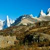 Cerro Torre and Fitz Roy. Los Glaciares National Park, Argentina, South America.