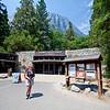The Yosemite Visitor Centre in Yosemite Valley, California.