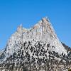 Cathedral Peak. John Muir Trail, the Sierra Nevada Mountains in California, United States.