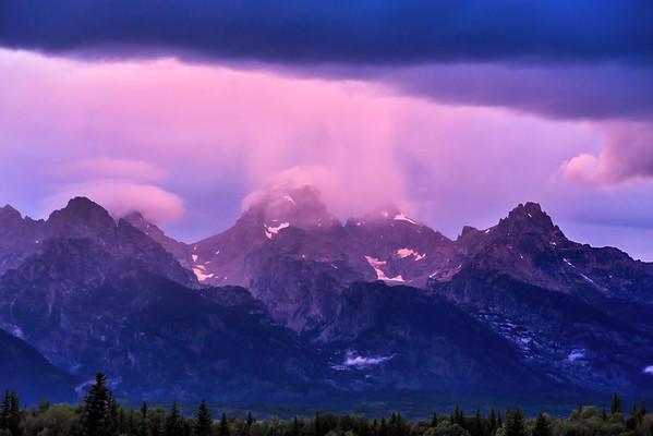 Sunset through the Storm