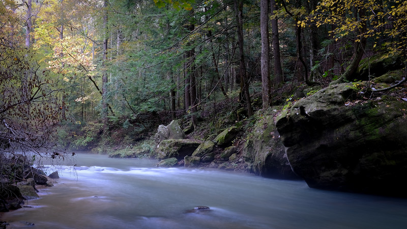 Long Exposure of Borden Creek