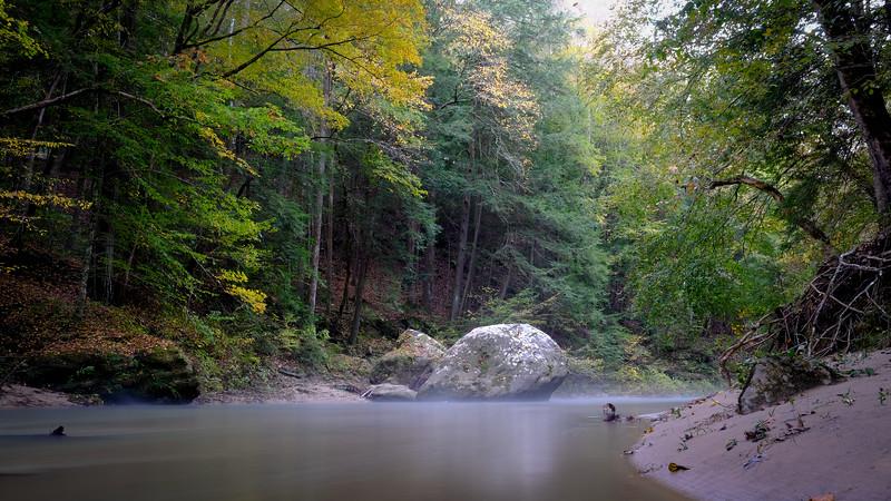 Long Exposure of Borden Creek