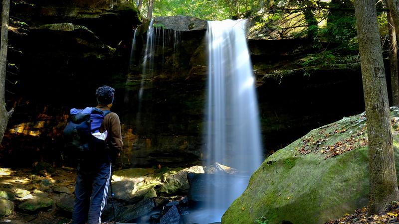 Selfie at Fall Creek Falls