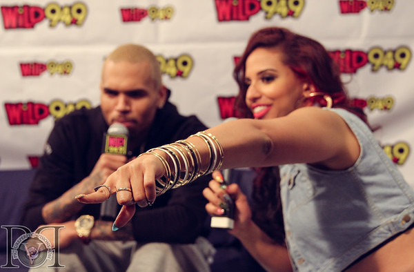 Chris Brown Performance and Backstage Interview