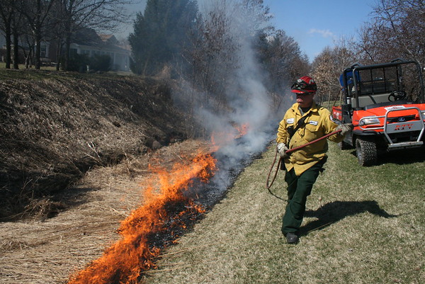 T.G.F Forestry And Fire Wildland Burns Vernon Hills Illinois
