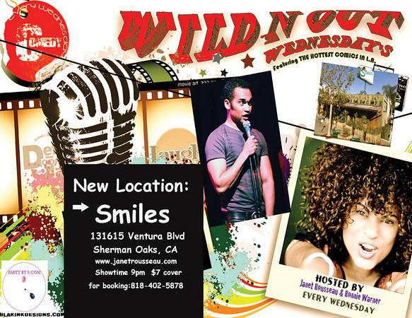 WildNOut Wednesdays New Location Smiles