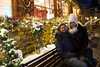 Christine and I in Vail, CO around Christmas