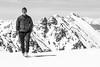 Mountain Portrait from the Summit of Atlantic Peak