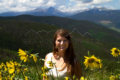 Senior Pics in Vail, CO