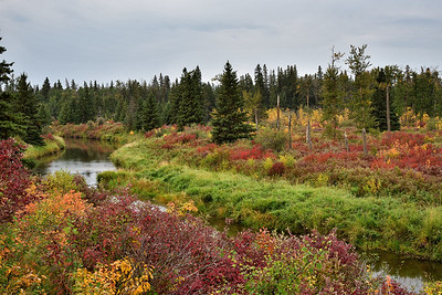 Early fall on the Sturgeon River