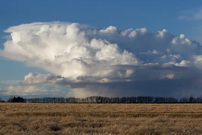 Fall storm cloud