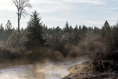 Rising mist