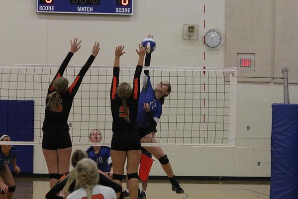 Wildcats vs. Generals volleyball 9-29-16