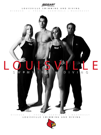 LOUISVILLE SWIMMING AND DIVING PUBLICATION | design and photography by David Klotz