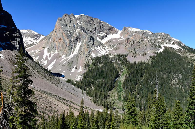 Massive, jagged peak!